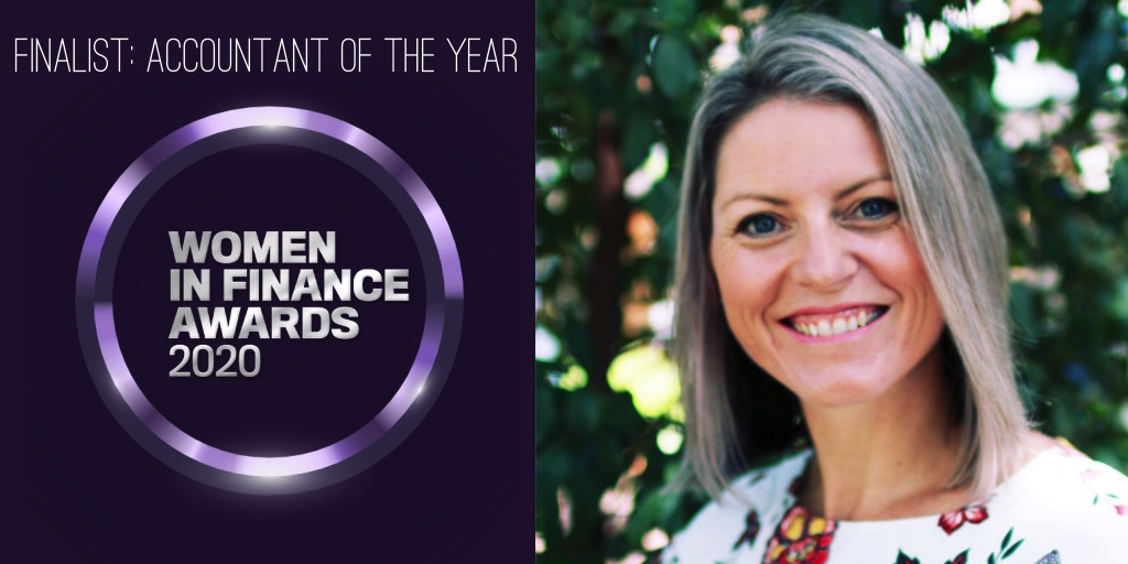 Rachel Hunter Accountant Finalist 2020 Women in Finance Awards 2020 v2